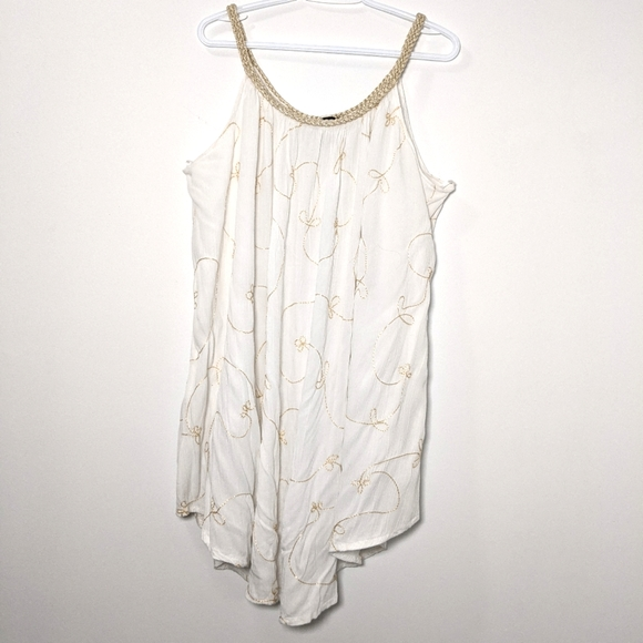 NuLook Billowing White Dress